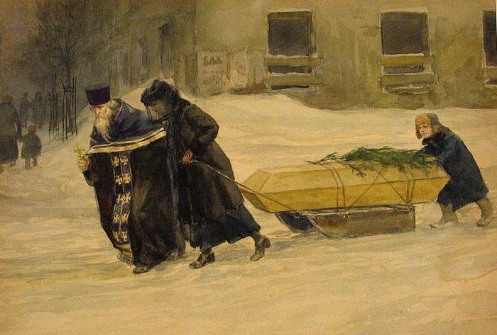 Владимиров Иван (1869-1947). Похороны