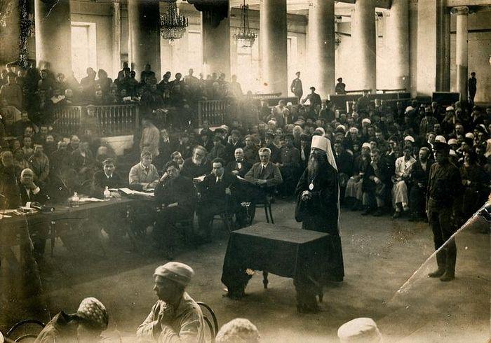 Процесс против священномученика Вениамина Петроградского