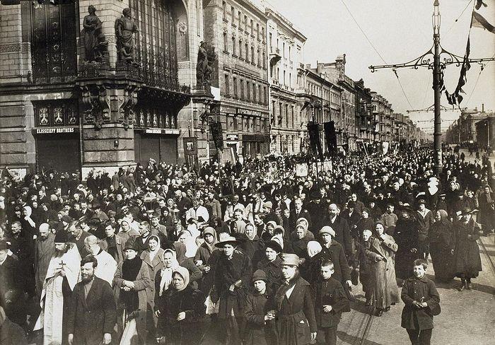 Крестный ход 1918-го
