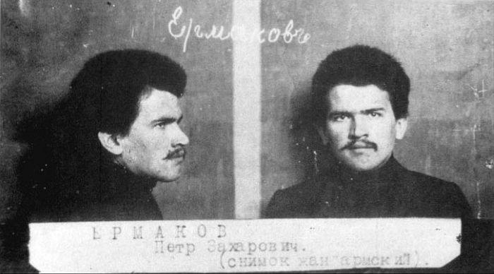 П.З. Ермаков. Жандармский снимок 1907 г.