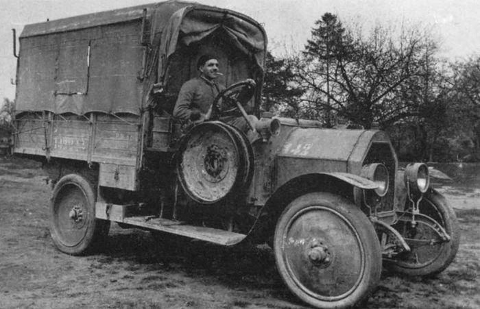 Грузовик «Fiat 15 Ter» в период Первой Мировой