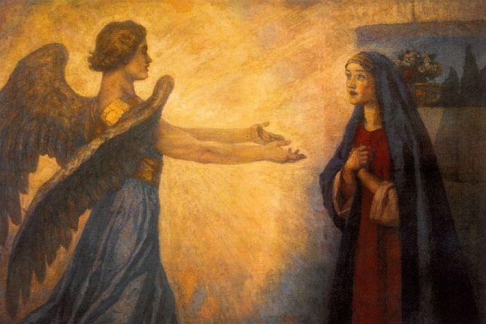 В.И. Суриков. Благовещение (1914)