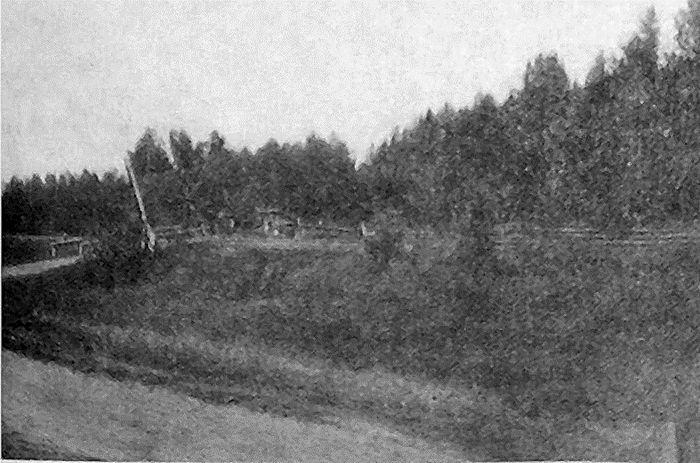 Фото 1. Переезд № 185. Фото 1919 года