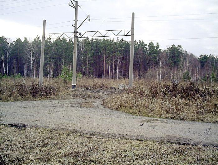 Фото 2. Переезд № 185. Фото 2006 года