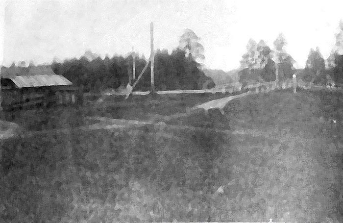 Фото 4. Переезд № 184. Фото 1919 года