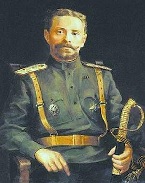 Генерал Каппель. 2001 г. Художник Р.В. Былинская