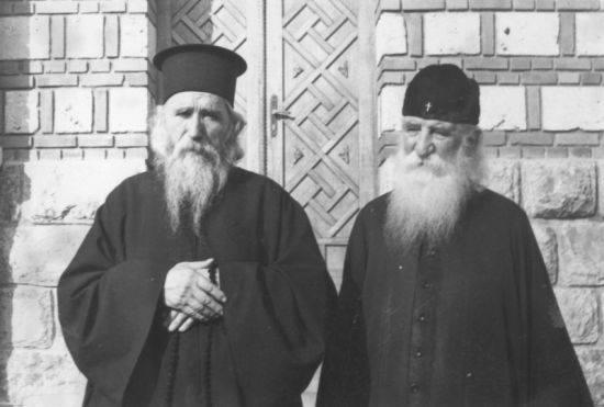 Старац Клеопа (Илије) и Преподобни Јустин Ћелијски