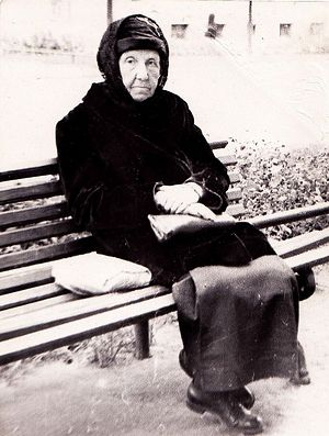 Монахиня Марина (Изотова). Послевоенный снимок.