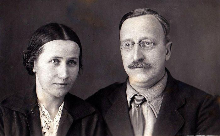 Борис и Мария Малышевы. 1939 год