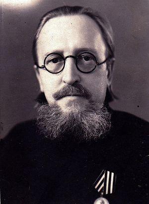 Диакон Борис Малышев в Лениградской Семинарии. 1946 г.
