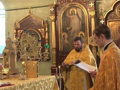 В Кемерове впервые состоялась Божественная Литургия на греческом языке