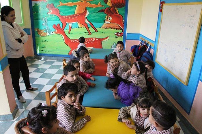 Представители Московского Патриархата посетили ряд социальных объектов Коптской Церкви, в том числе общеобразовательную школу «Глаза Каира»