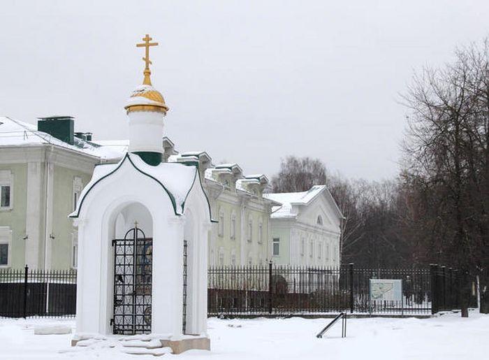 Царская часовня в честь императора Николая II в Клину. Фото: Юрий Балдин/vm.ru