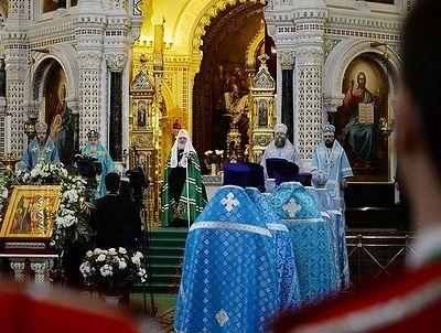 Слово в праздник Сретения Господня после Литургии в Храме Христа Спасителя