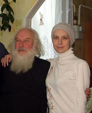 Отец Георгий с дочерью Машей