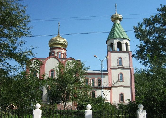 The Cathedral of St. George where the shooting took place. Photo: http://sobory.ru