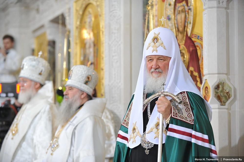 22 февраля Святейший Патриарх Кирилл возглавит вечернее богослужение в Сретенском монастыре