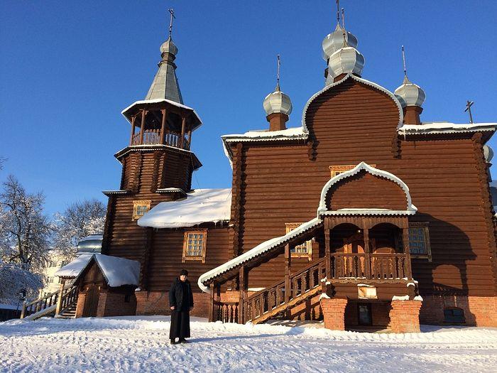 Храм Успения в селе Озерском (Подборках)