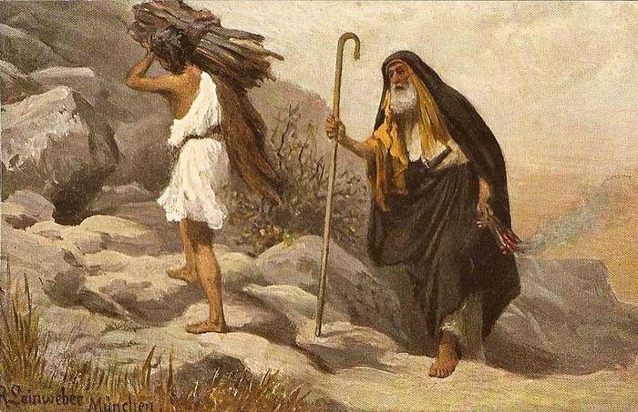 Р. Ляйнвебер (1845–1921) Жертвоприношение Авраама.