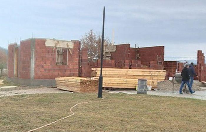 Прибиловци, градња парохијског дома. Фото: РТРС