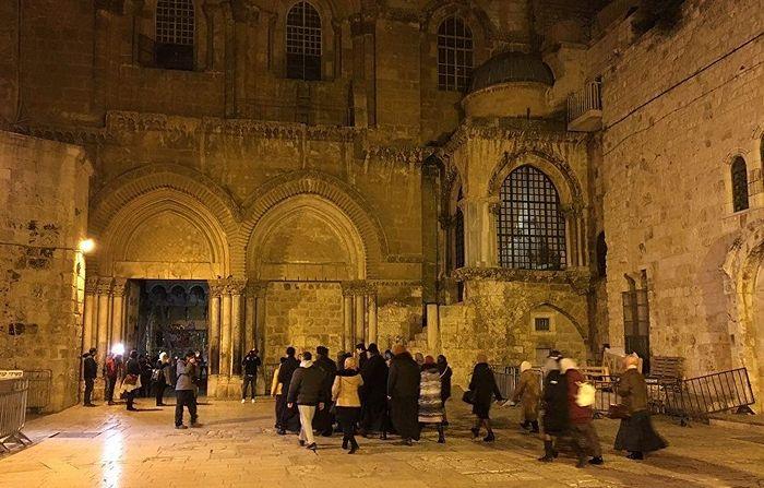 В Иерусалиме вновь открылся Храм Гроба Господня. 28.02.18. Фото: РИА Новости / Артур Габдрахманов