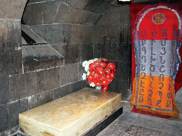 Гробница св. Месропа Маштоца