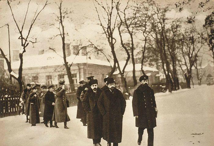 Прибытие российской делегации