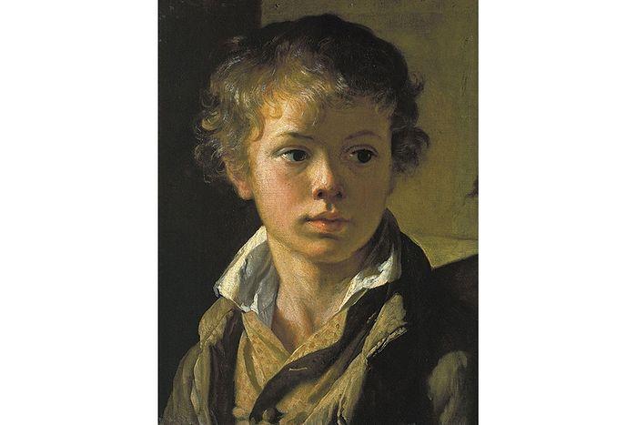 В.А. Тропинин. Портрет сына.