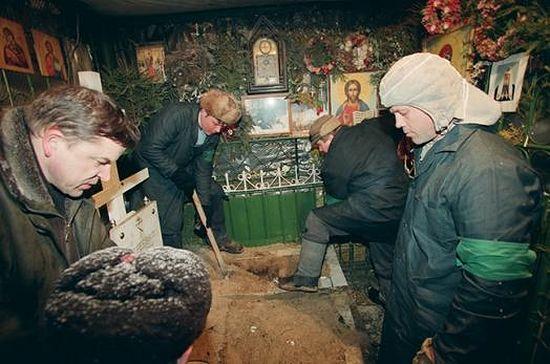 Обретение мощей блаженной Матроны. 8 марта 1998 года