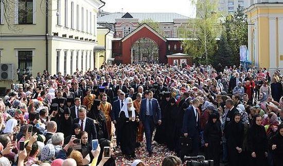 Встреча Святейшего Патриарха КИРИЛЛА. 2 мая 2017 года
