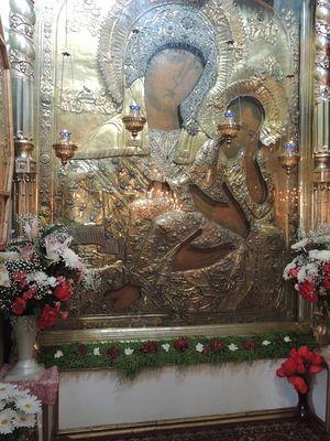 Старорусская иконы Божией Матери в церкви вмч. Георгия Победоносца г. Старая Русса. Фото: russablago.ru