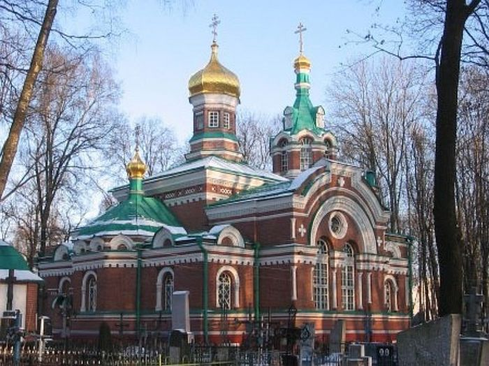 Александро-Невский храм-памятник на Военном кладбище Минска