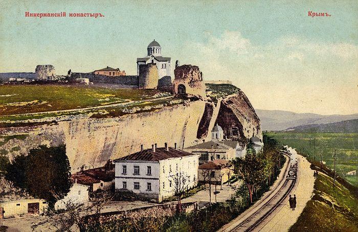 Инкерманский монастырь в начале 20 века.
