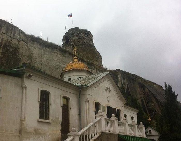 Инкерманский монастырь, фото И. Матвеева.