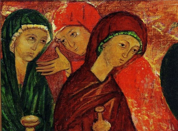 Myrrhbearers. Painting by S. Bondarchuk. Photo: mynnm.ru