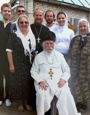 Отец Леонтий с семьей