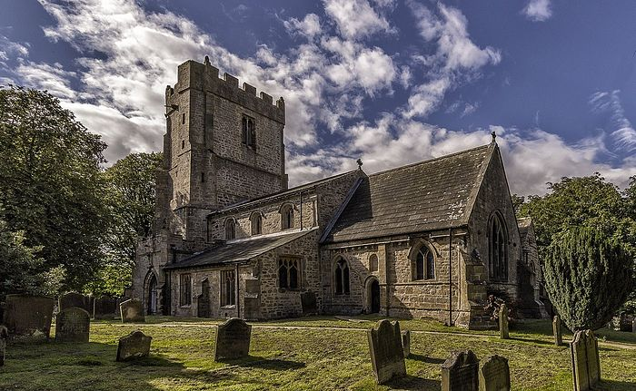 Church of Sts. Peter and Felix in Kirby Hill, Ravensworth, North Yorkshire