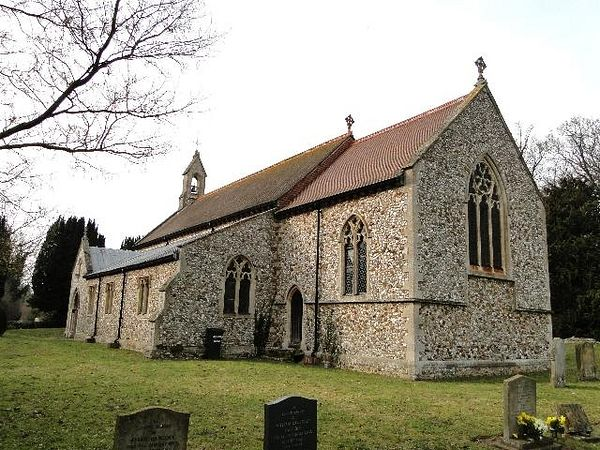 Church of Sts. Peter and Paul in Shernborne, Norfolk (photo by Adrian S Pye from Geograph.org.uk)