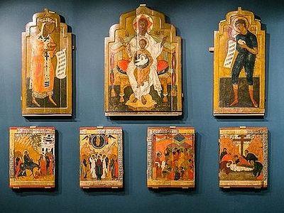 В Третьяковской галерее проходит выставка икон «Сказание о граде Свияжске»