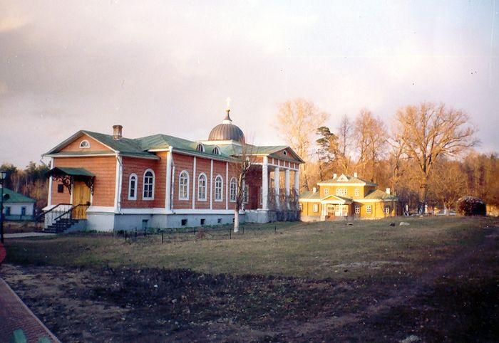 Скитский храм