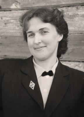 Ирина Александровна Иванова. (1924-2005) один из первых сотрудников музея имени Андрея Рублева.