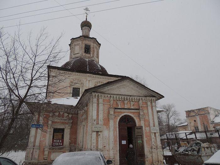 Владимирский храм в наши дни