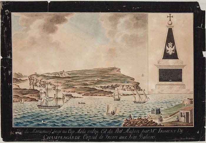 Картина с изображением обелиска