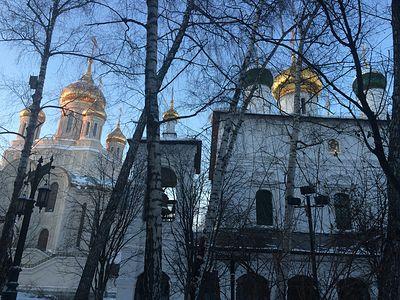 Всенощное бдение в Сретенском монастыре накануне Недели 4-й Великого поста, преподобного Иоанна Лествичника