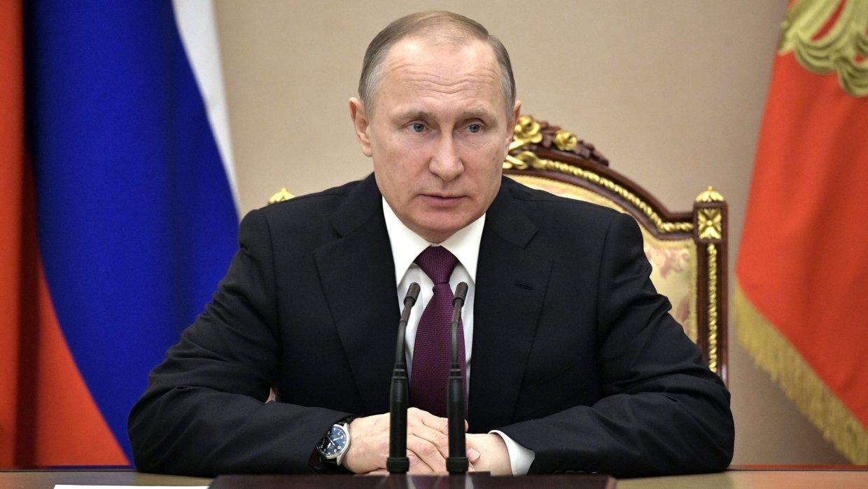 Святейший Патриарх Кирилл поздравил Владимира Путина с переизбранием на пост Президента России