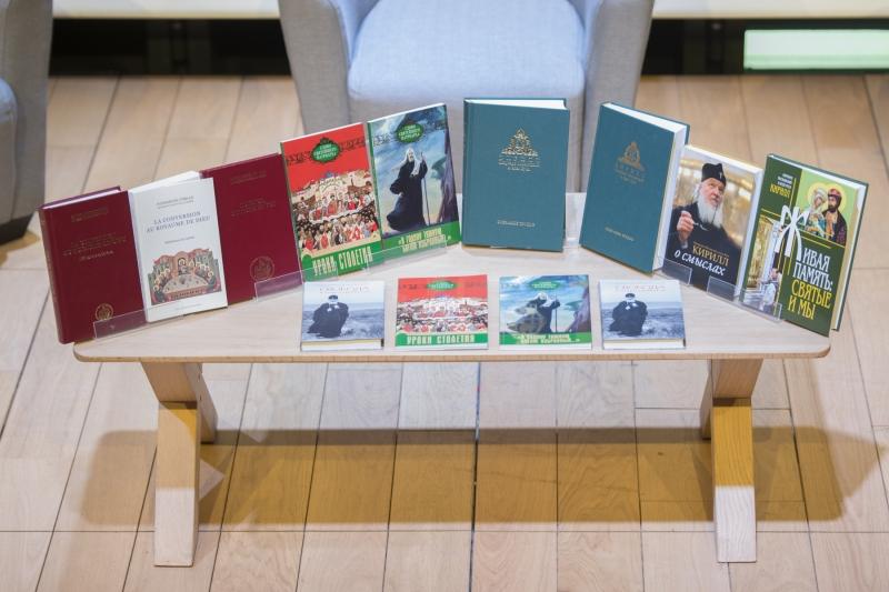 В Париже состоялась презентация новых книг Святейшего Патриарха Кирилла