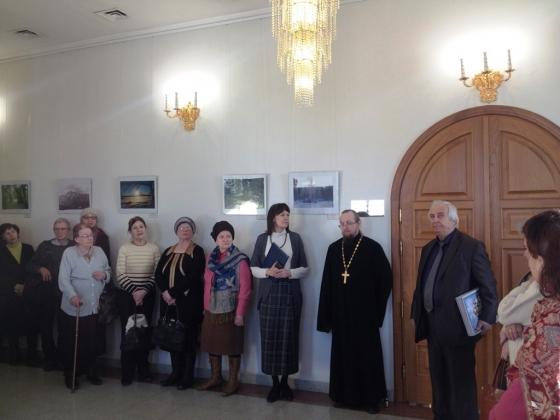 В духовно-просветительском центре «Царский» в Екатеринбурге открылась выставка о монастырях России