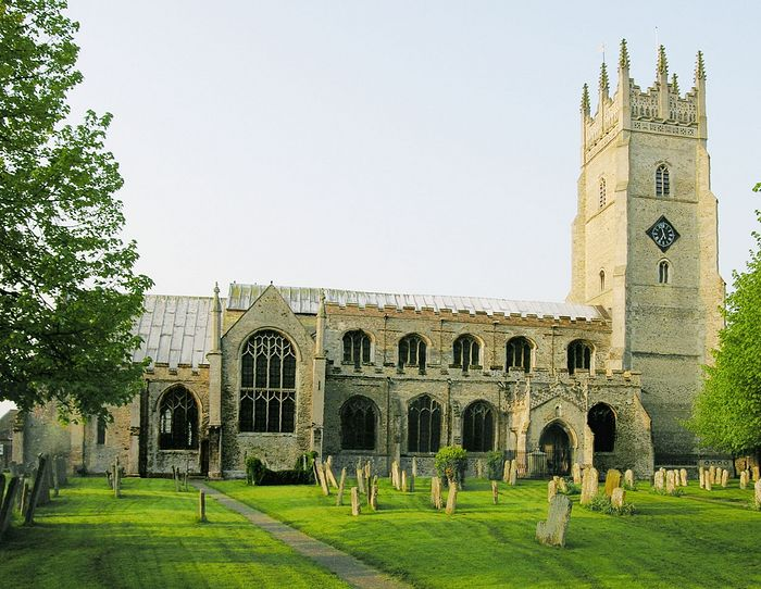 St. Andrew's Church in Soham, Cambs (photo kindly provided by the Soham church)
