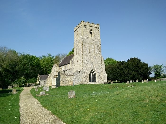 St. Mary's Church in Flitcham, Norfolk (used with the kind permission of the rector of the local benefice)