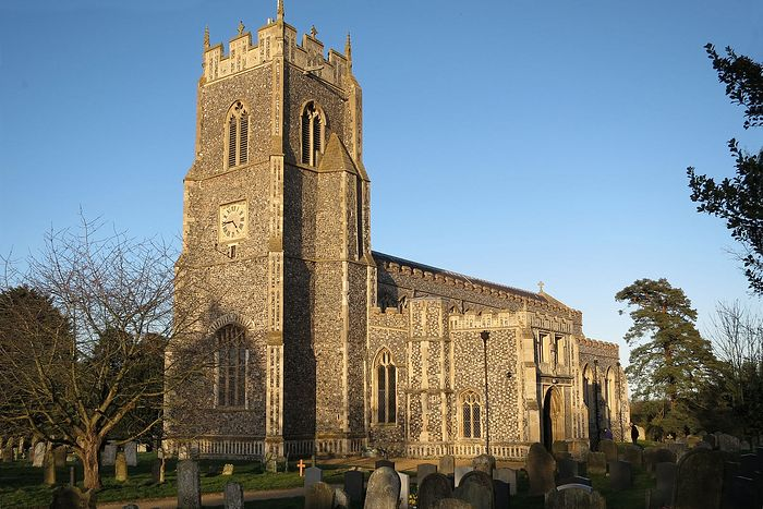 The Holy Trinity Church in Loddon, Norfolk (photo kindly provided by rector of the Loddon church)